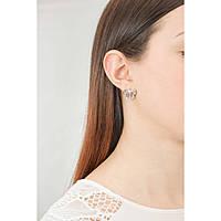 boucles d'oreille femme bijoux Brosway Rosette BEE21