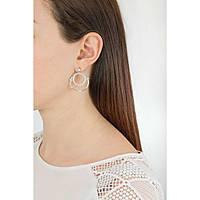 boucles d'oreille femme bijoux Brosway Sun BUN21