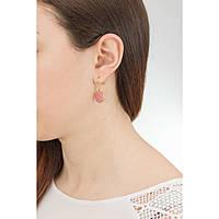 boucles d'oreille femme bijoux Chrysalis Buona Fortuna CRET0110GP