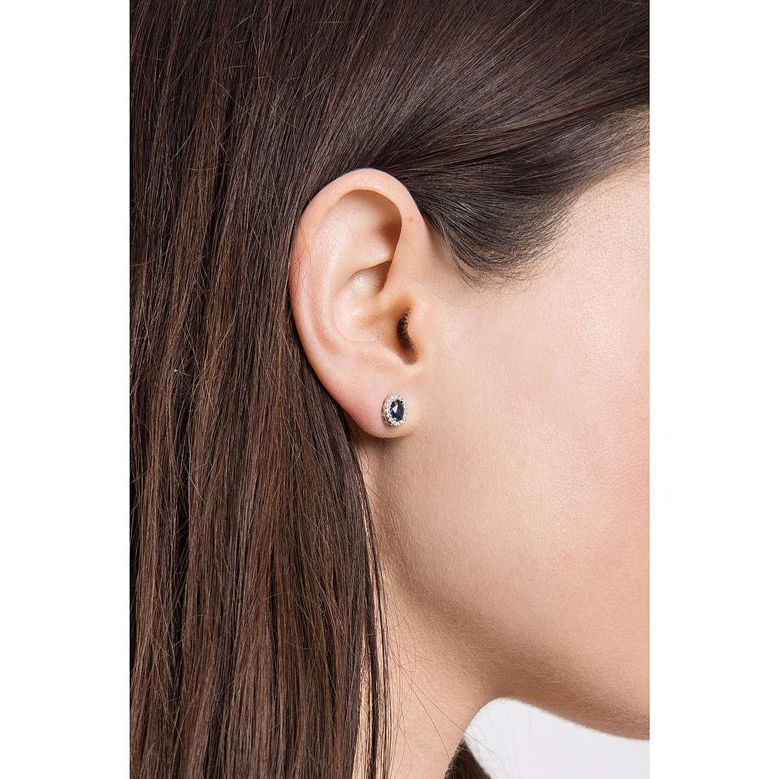 Comete boucles d'oreille Classic 07/14 femme ORB 738 photo wearing