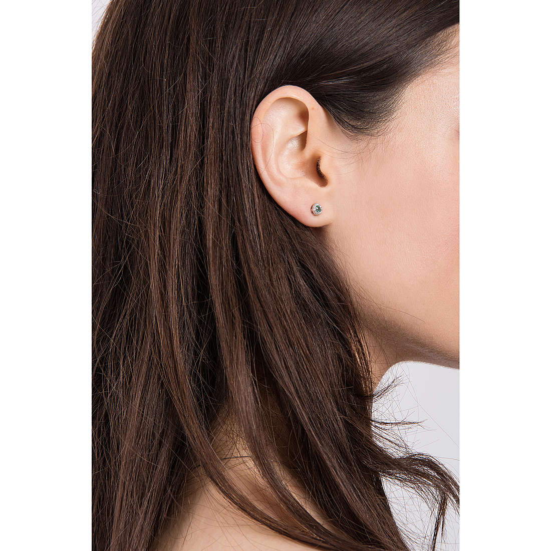 Comete boucles d'oreille Classic 07/14 femme ORB 749 photo wearing