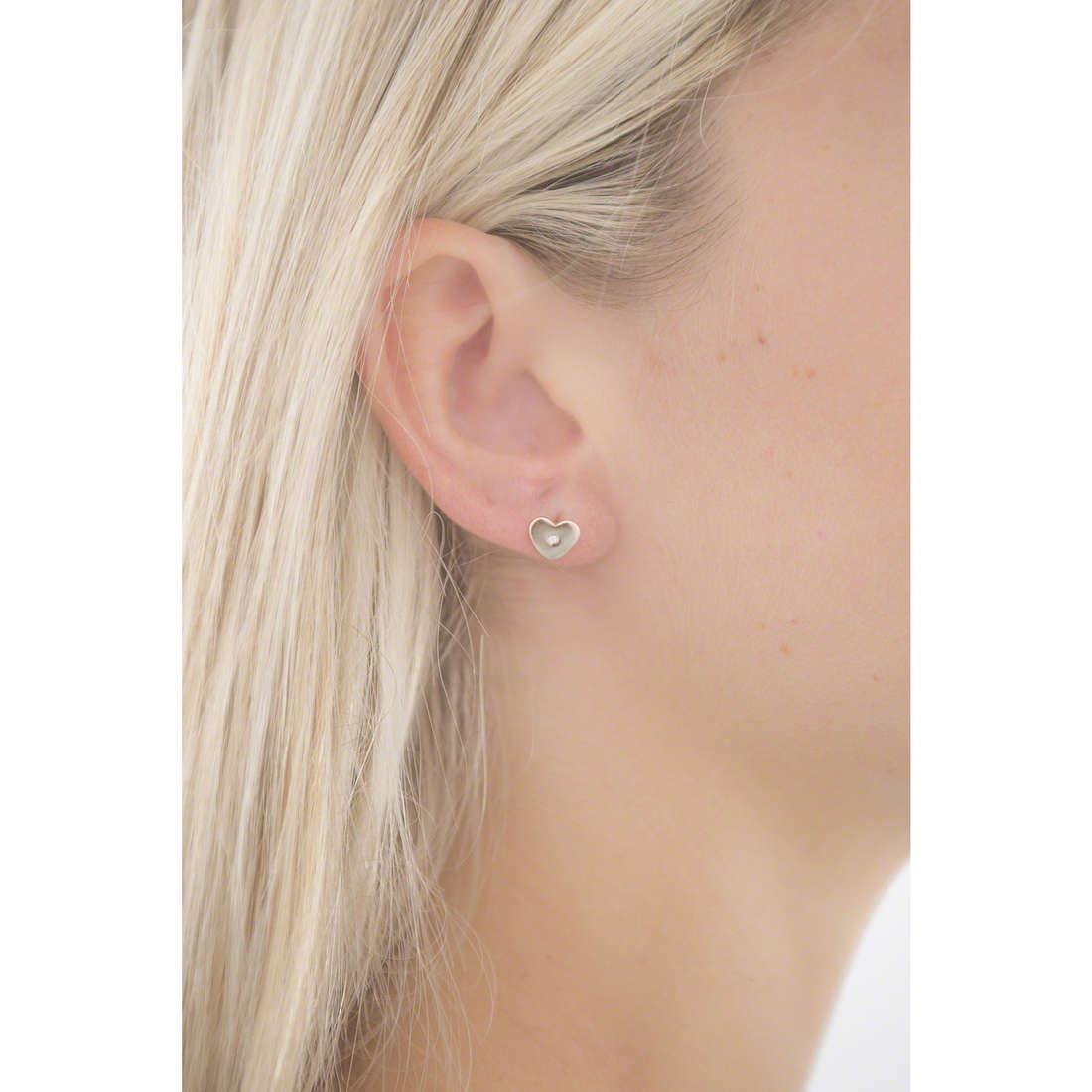 Comete boucles d'oreille Love Tag femme ORA 118 photo wearing