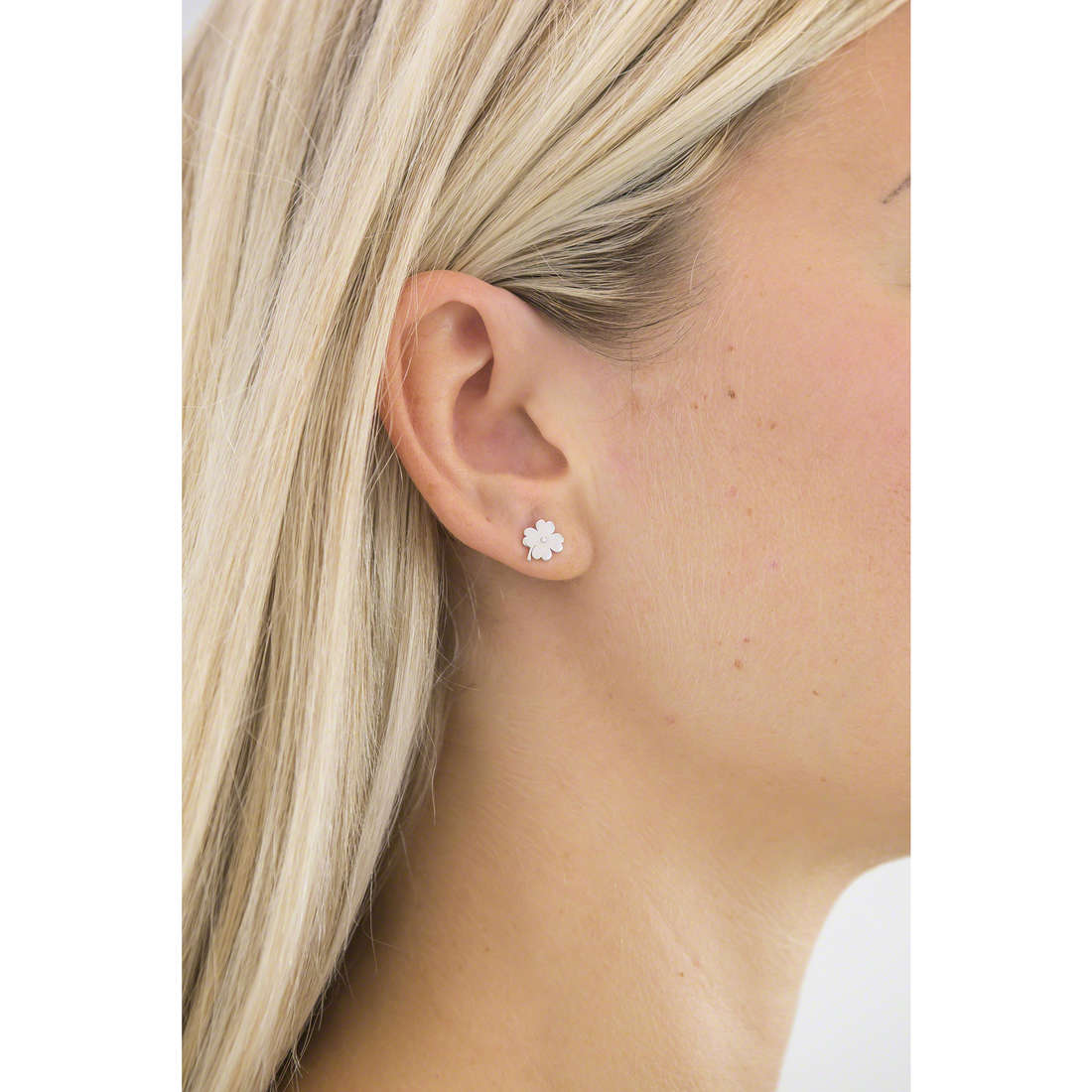 Comete boucles d'oreille Love Tag femme ORA 121 photo wearing