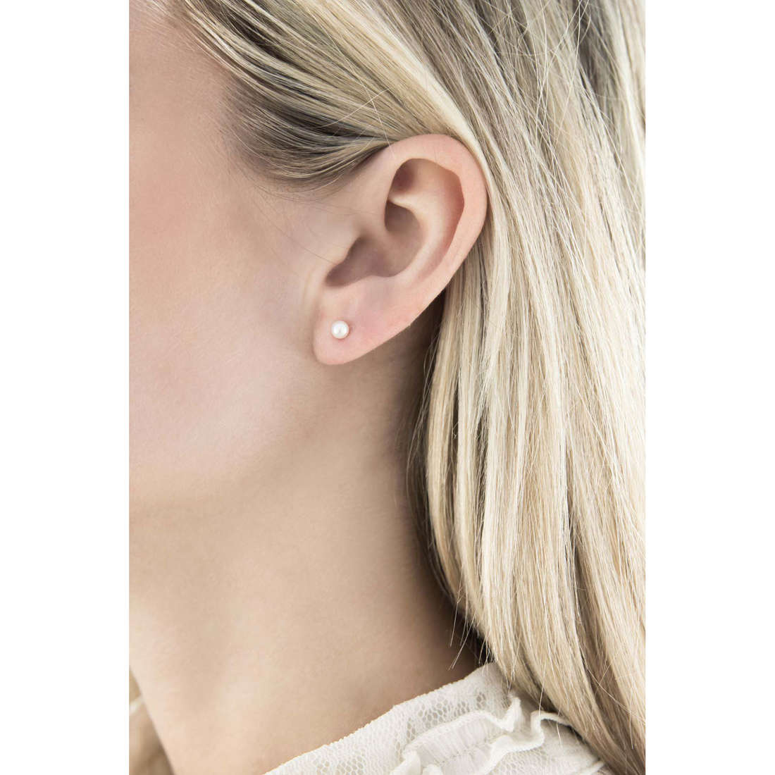 Comete boucles d'oreille Easy Basic femme ORP 556 indosso