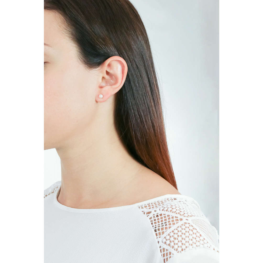Comete boucles d'oreille femme ORP 148 B photo wearing