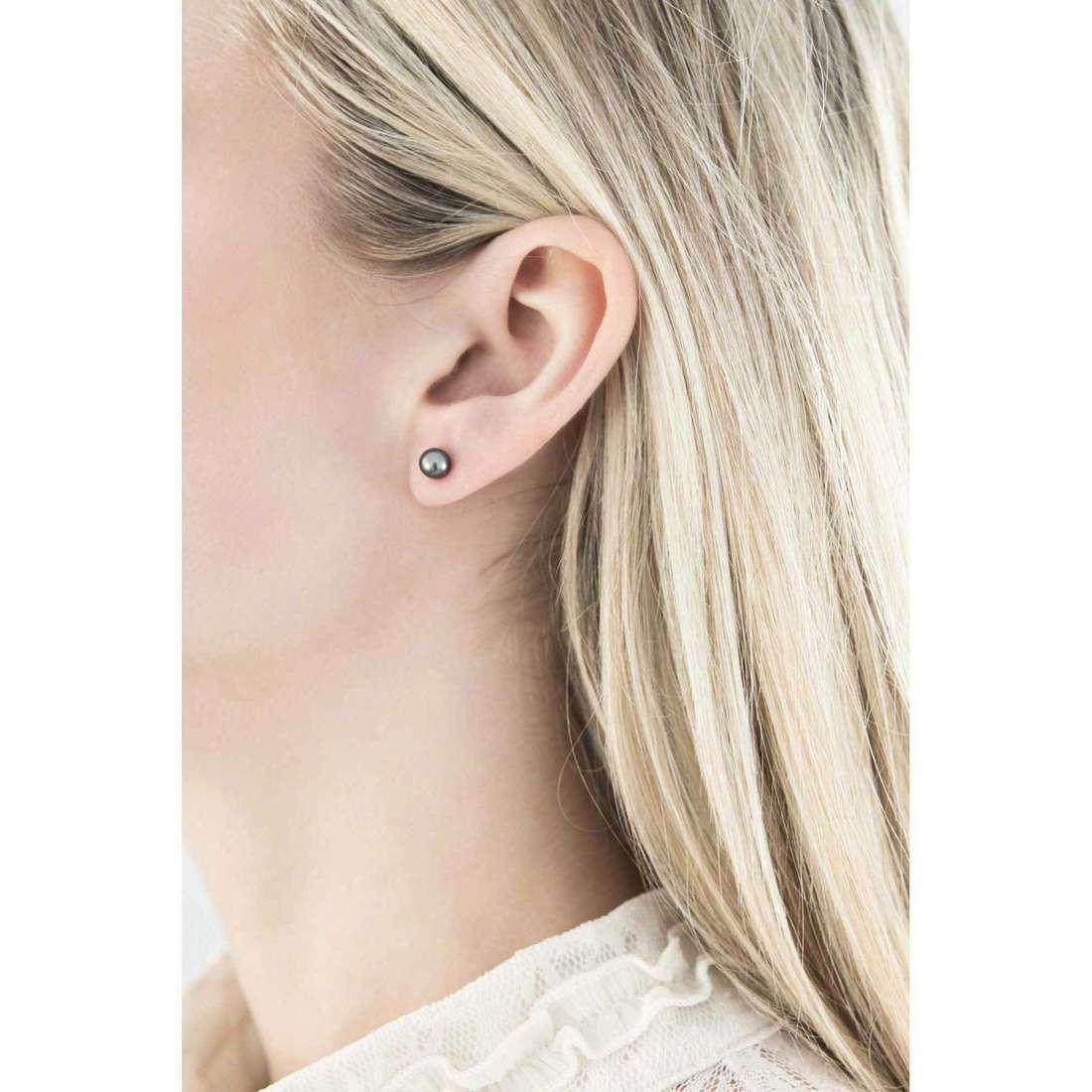 Comete boucles d'oreille femme ORP 522 indosso