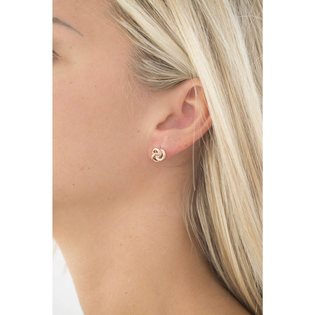 Fossil boucles d'oreille Summer 15 femme JF01364791 indosso