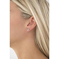 boucles d'oreille femme bijoux Fossil Vintage Glitz JF02422040