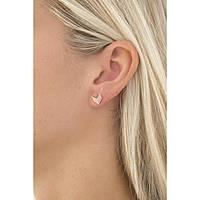 boucles d'oreille femme bijoux Fossil Vintage Glitz JF02423791
