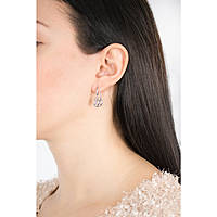 boucles d'oreille femme bijoux Fossil Vintage Iconic JF02722040