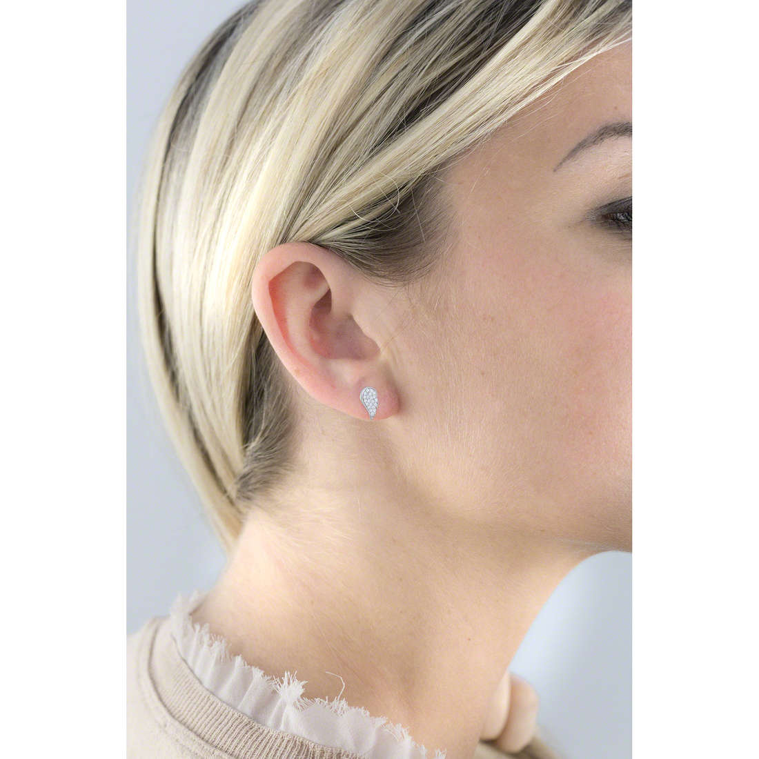 Giannotti boucles d'oreille Angeli femme GIANNOTTIGIA314 photo wearing