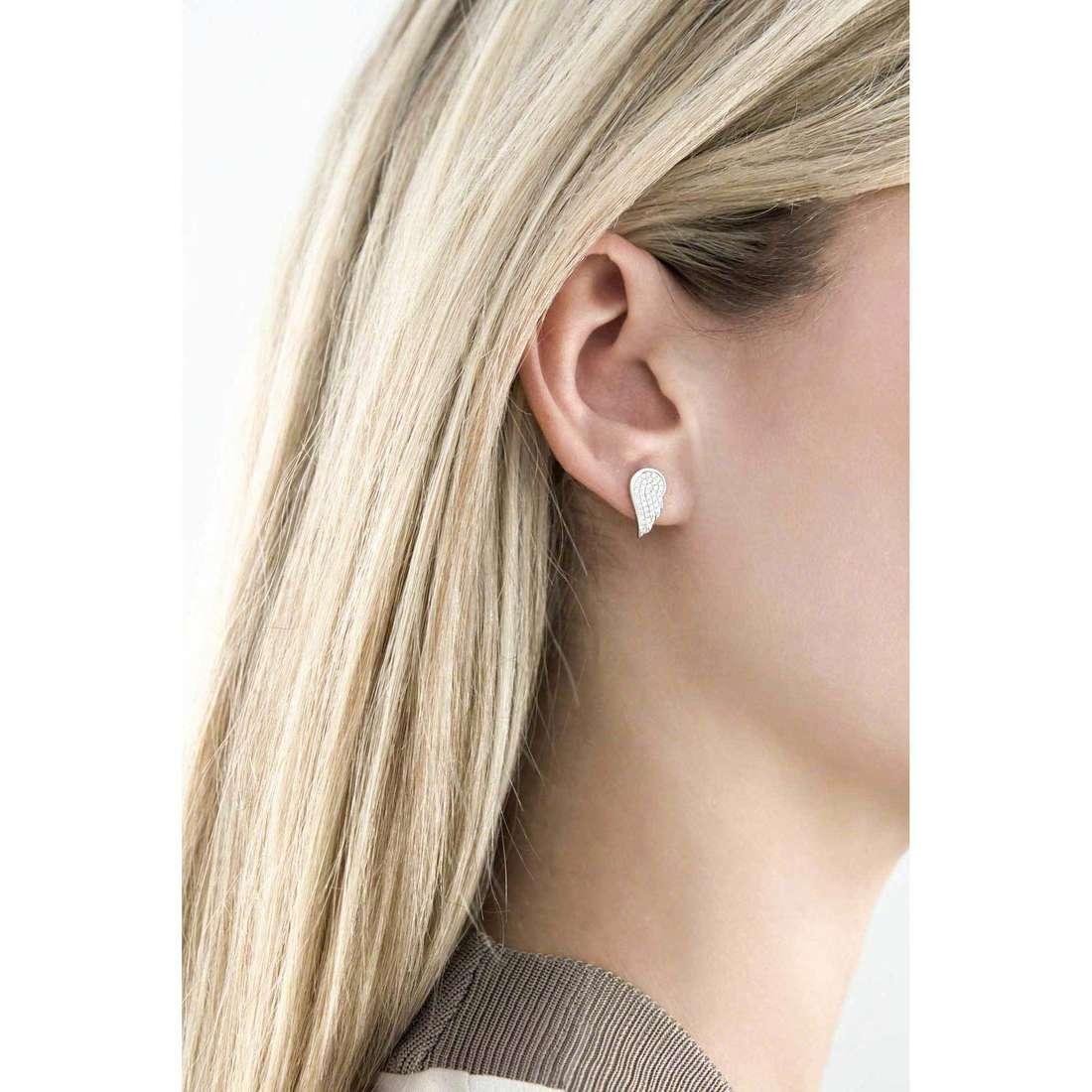 Giannotti boucles d'oreille Angeli femme GIANNOTTIGIA315 photo wearing