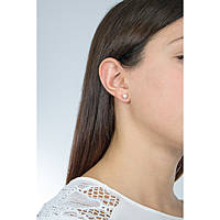 boucles d'oreille femme bijoux Giannotti Light Pearl GIANNOTTIPA105