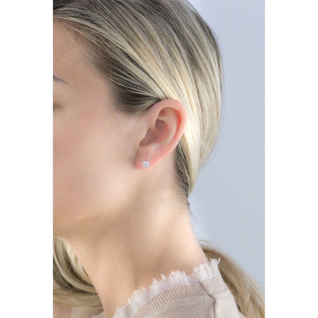 GioiaPura boucles d'oreille femme 19086-01-00 indosso