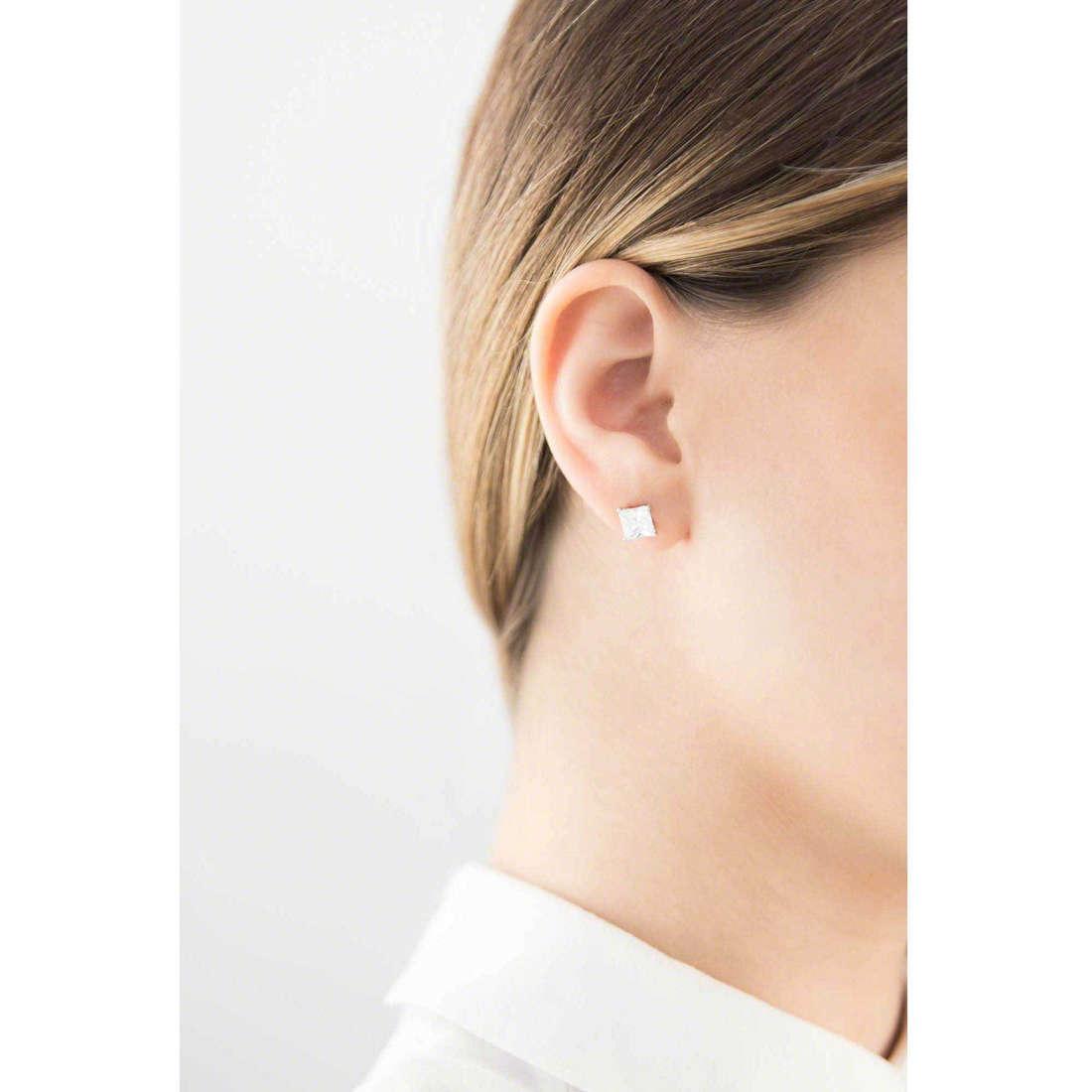GioiaPura boucles d'oreille femme 19087-01-00 indosso