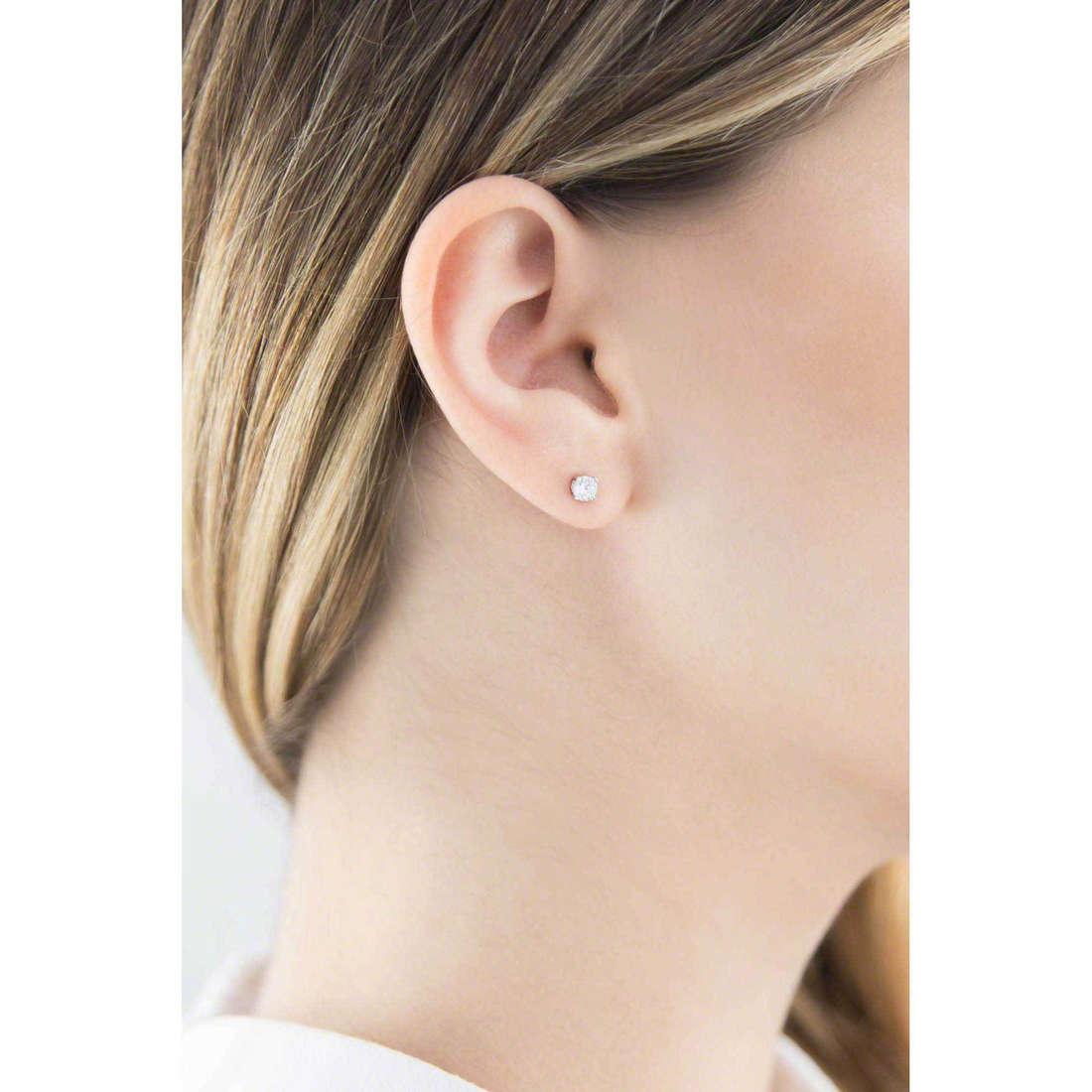GioiaPura boucles d'oreille femme 20717-01-00 indosso