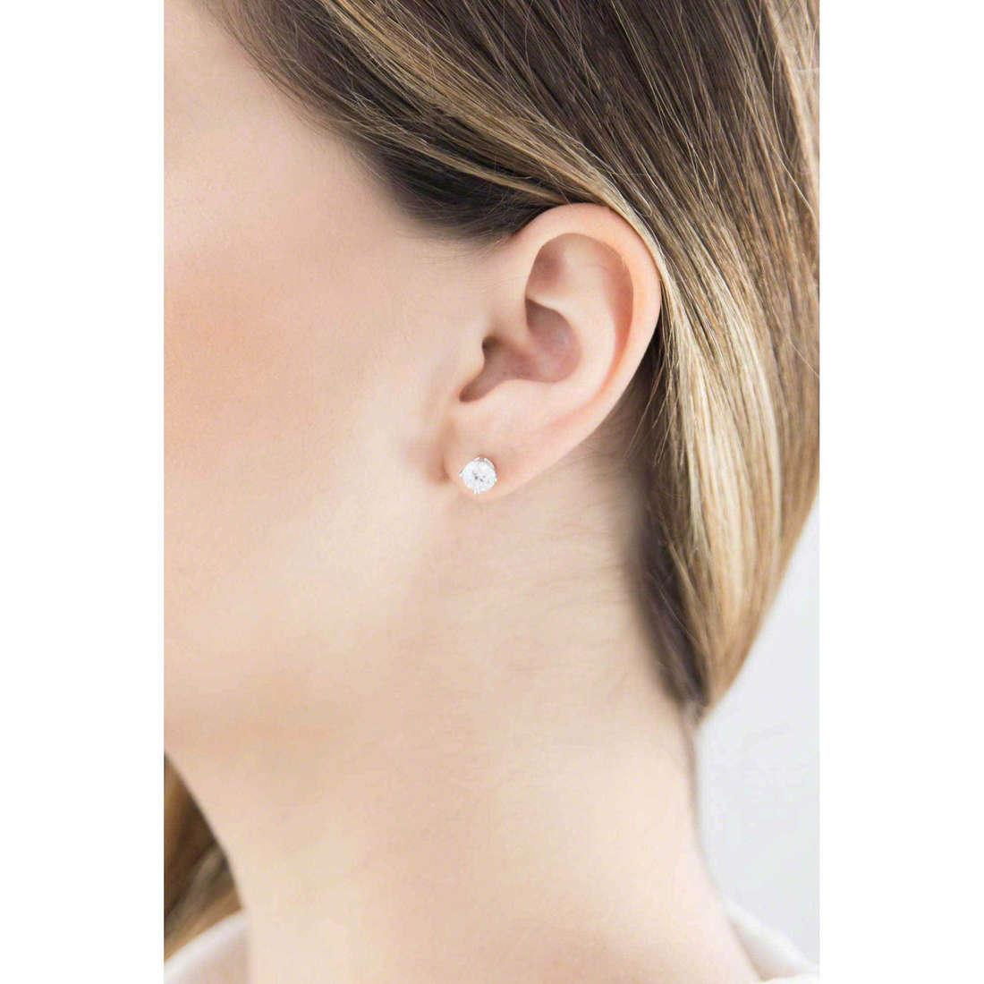 GioiaPura boucles d'oreille femme 20719-01-00 indosso