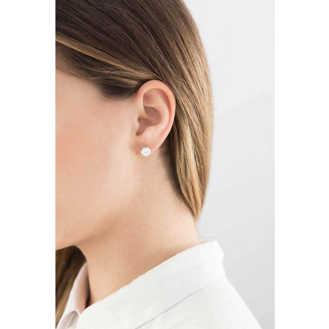 GioiaPura boucles d'oreille femme 20720-01-00 indosso