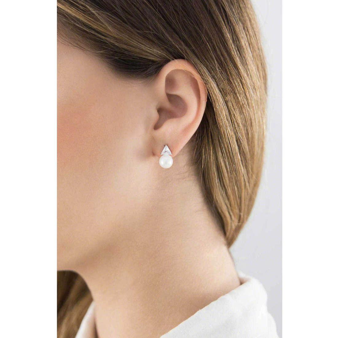 GioiaPura boucles d'oreille femme 22199-01-00 indosso