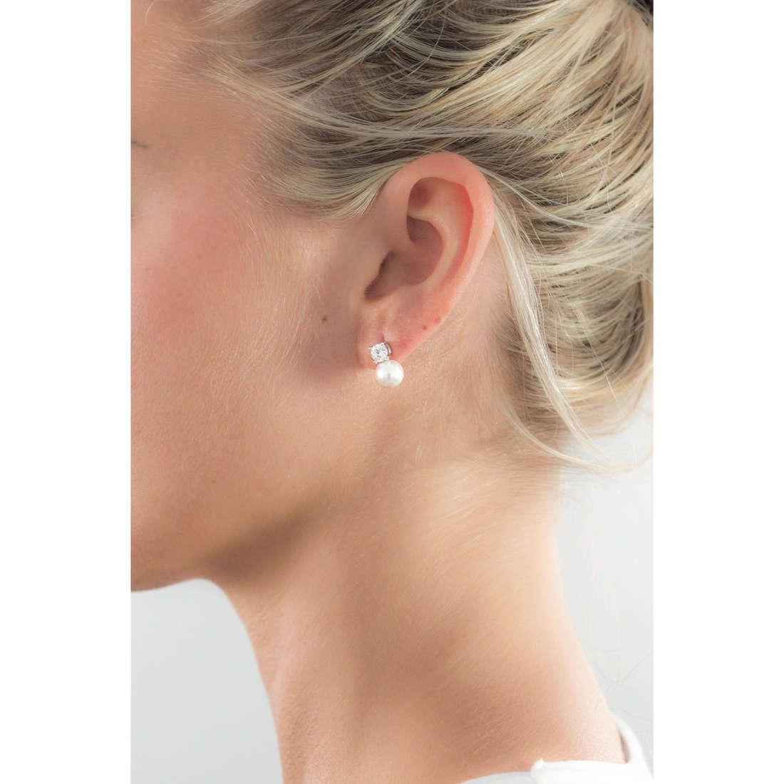GioiaPura boucles d'oreille femme 24045-01-00 indosso