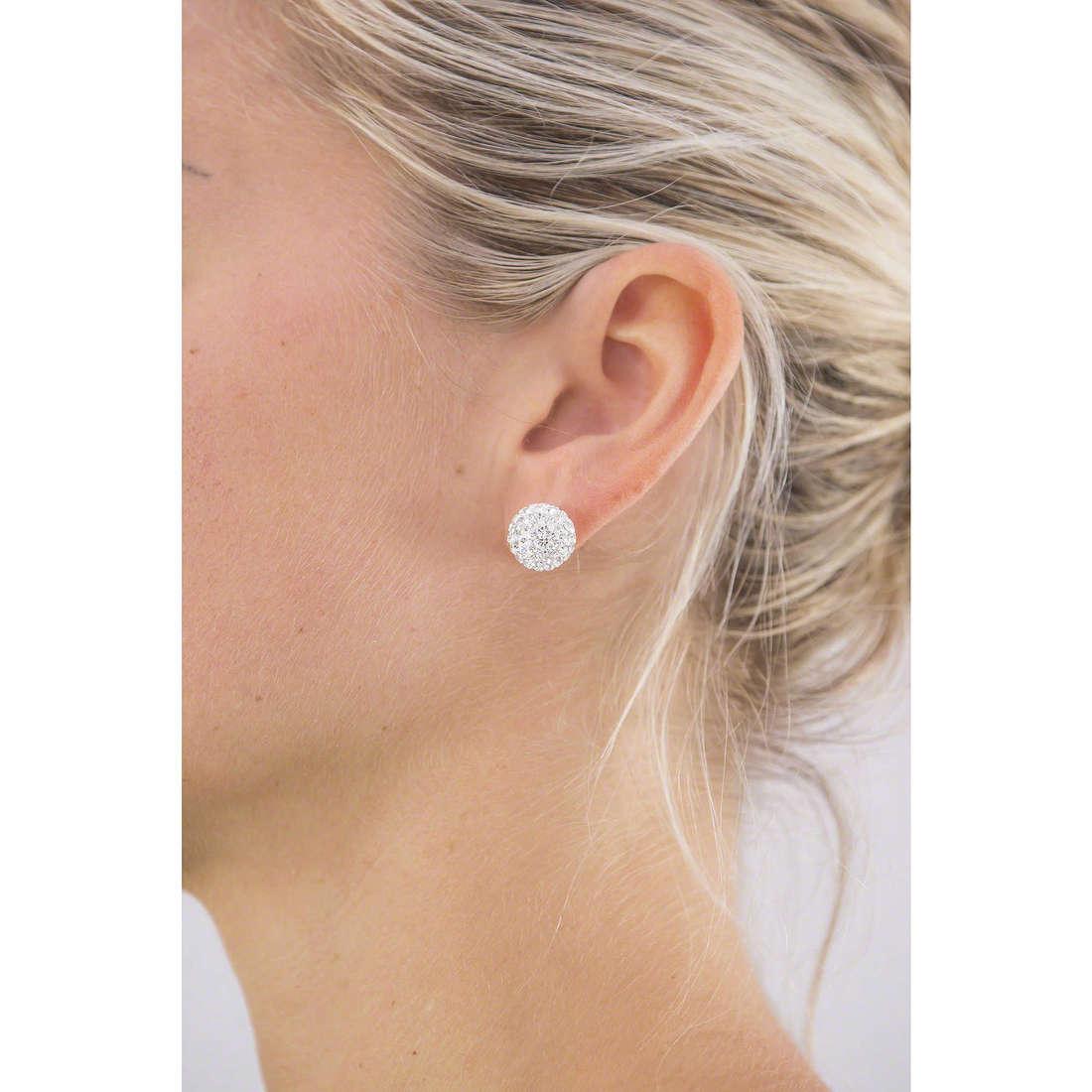 GioiaPura boucles d'oreille femme 26481-01-00 indosso