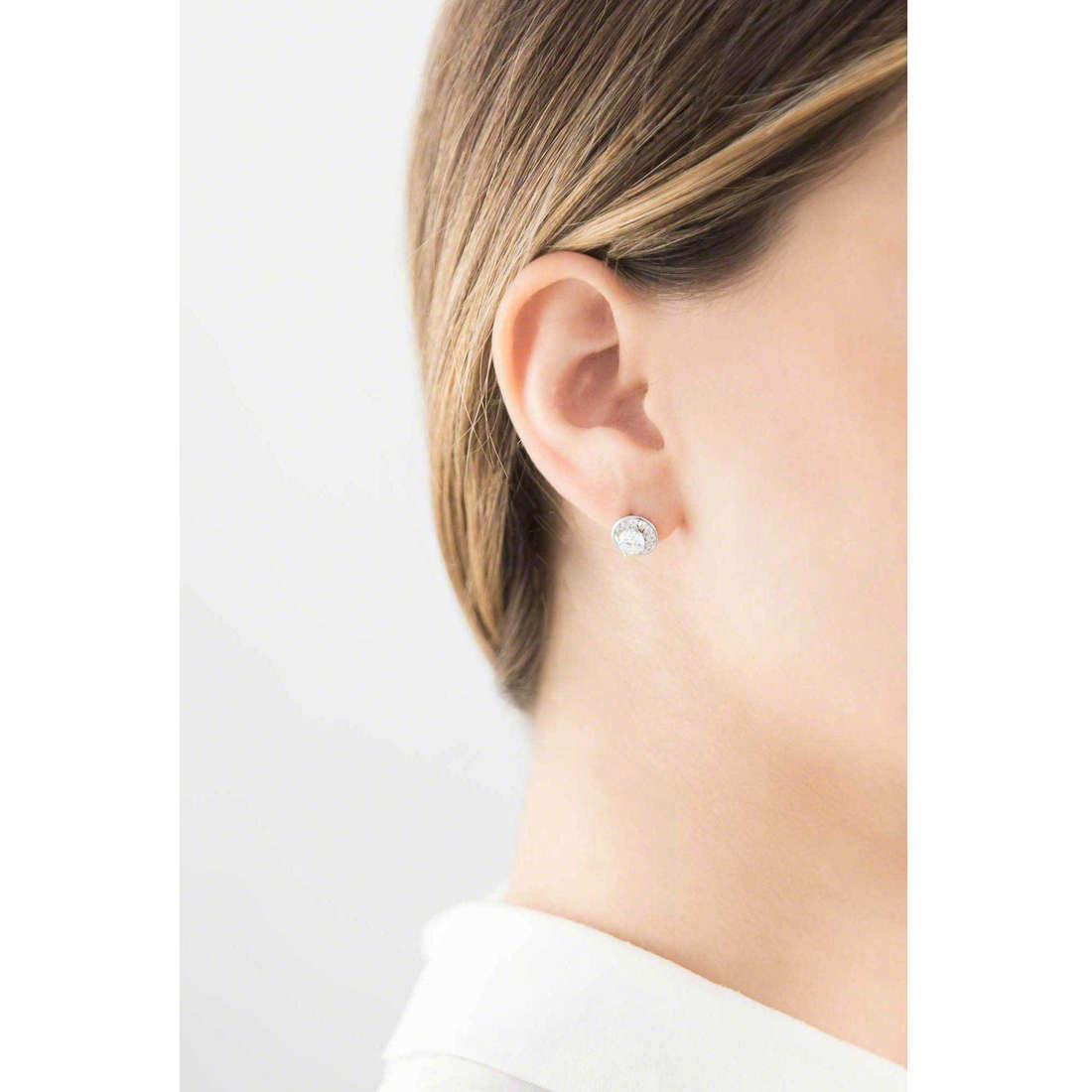 GioiaPura boucles d'oreille femme 30397-01-00 indosso