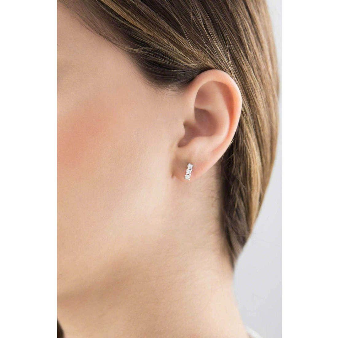 GioiaPura boucles d'oreille femme 30417-01-00 indosso
