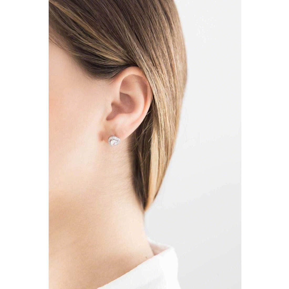 GioiaPura boucles d'oreille femme 30425-01-00 indosso