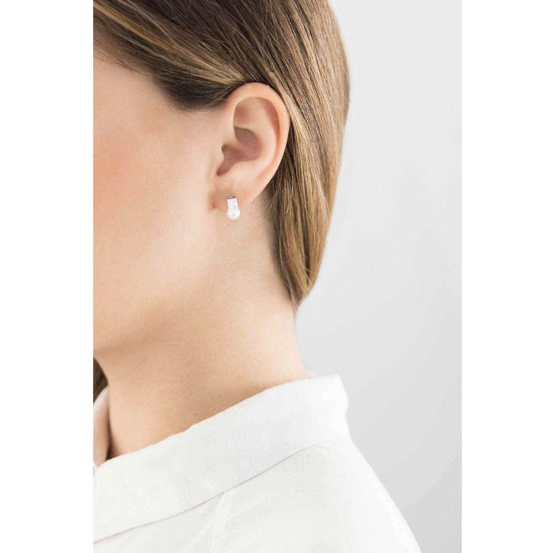 GioiaPura boucles d'oreille femme 31297-01-00 indosso