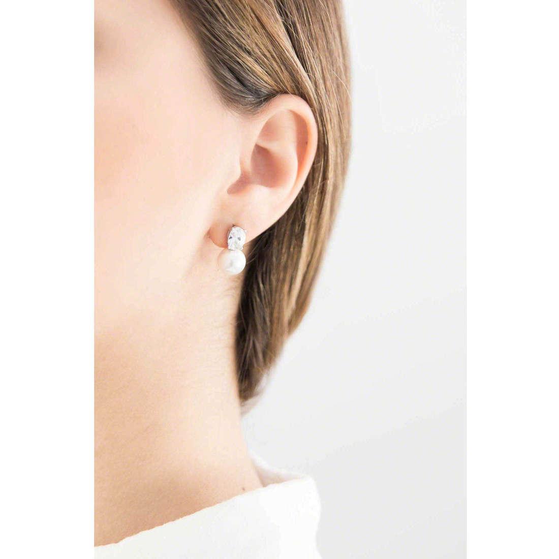 GioiaPura boucles d'oreille femme 31303-01-00 indosso