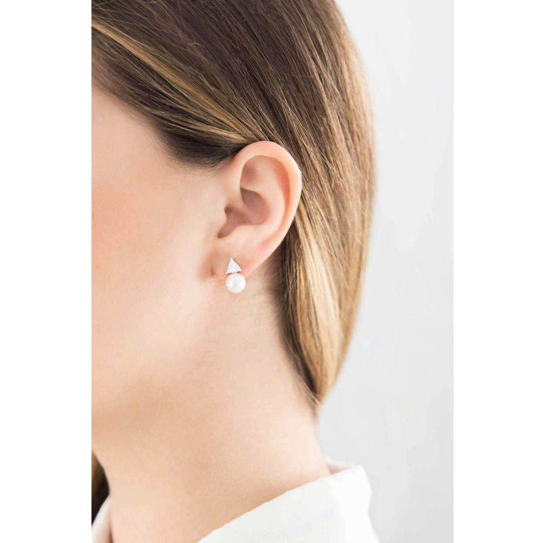 GioiaPura boucles d'oreille femme 31329-01-00 indosso