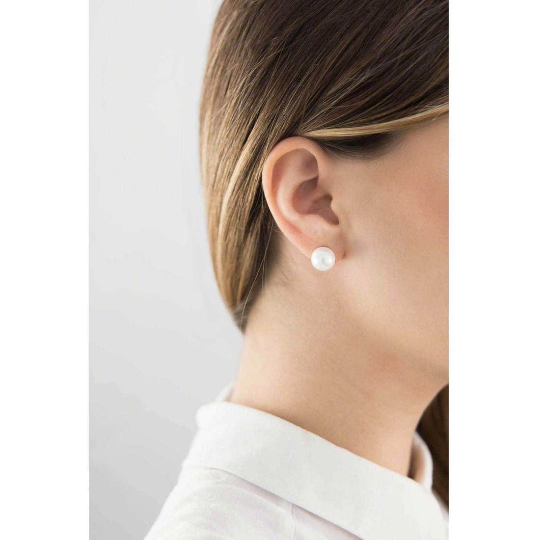 GioiaPura boucles d'oreille femme 36489-00-00 indosso