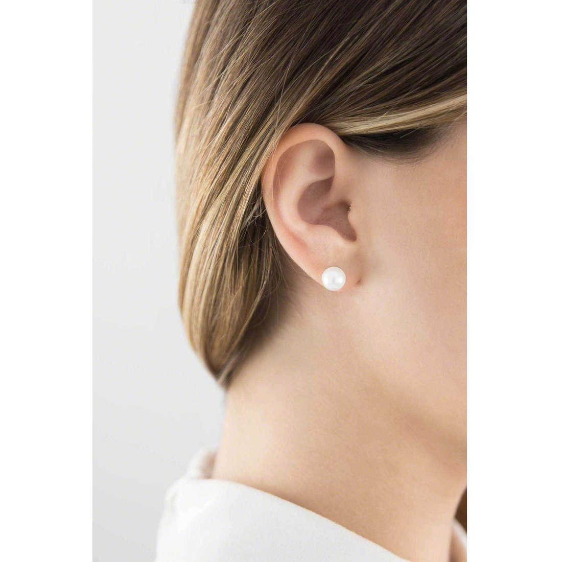 GioiaPura boucles d'oreille femme 36493-00-00 indosso