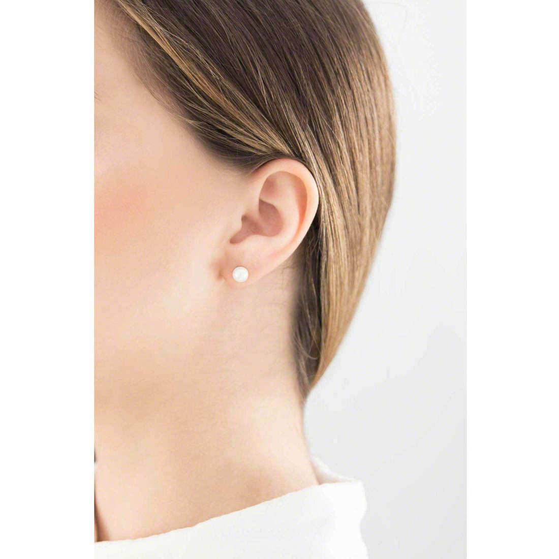 GioiaPura boucles d'oreille femme 36494-00-00 indosso