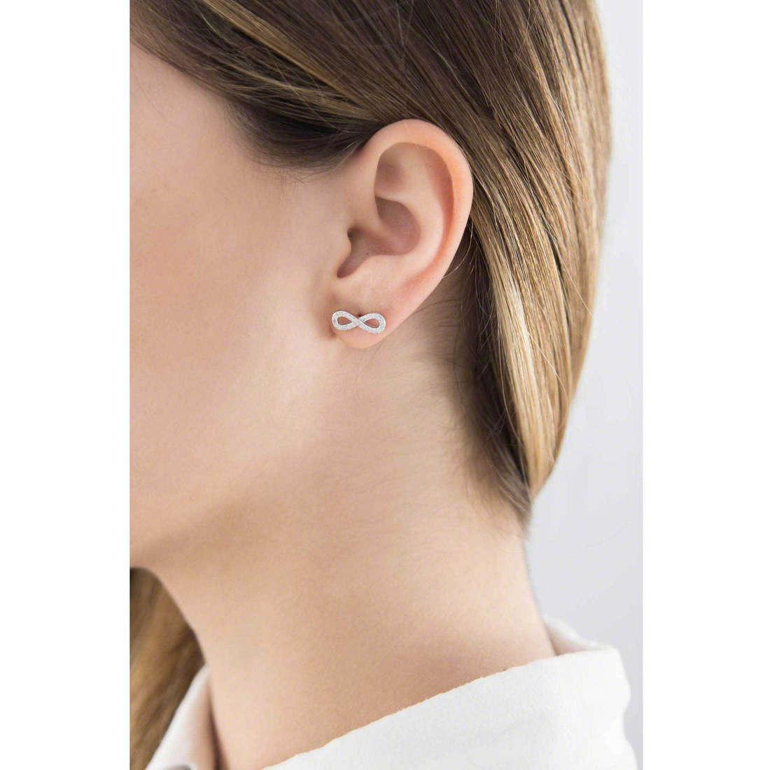 GioiaPura boucles d'oreille femme 36834-01-00 indosso