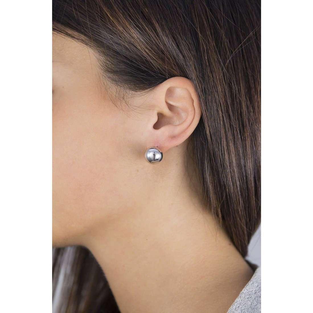 GioiaPura boucles d'oreille femme 40086-00-00 indosso