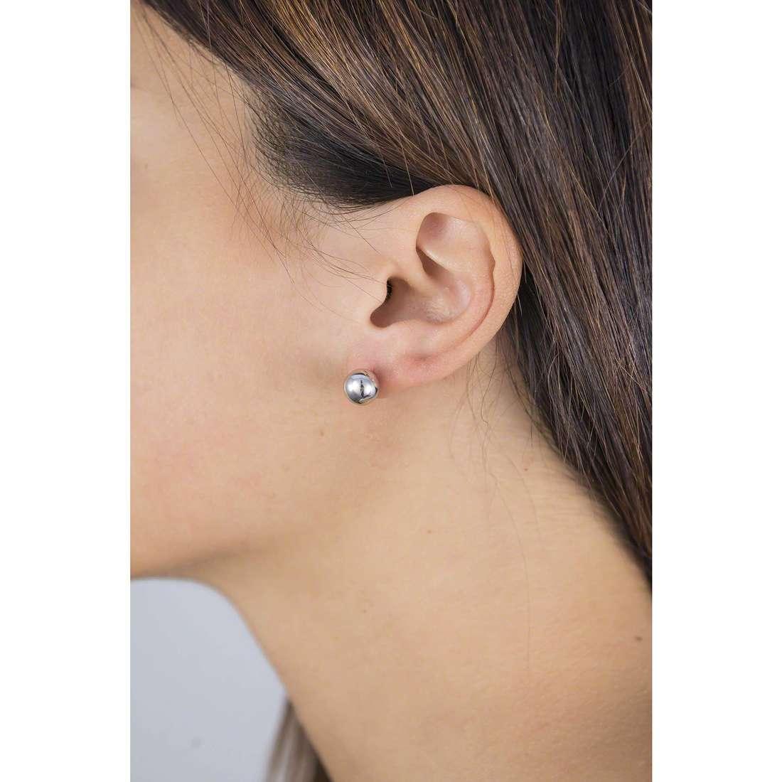 GioiaPura boucles d'oreille femme 40088-00-00 indosso