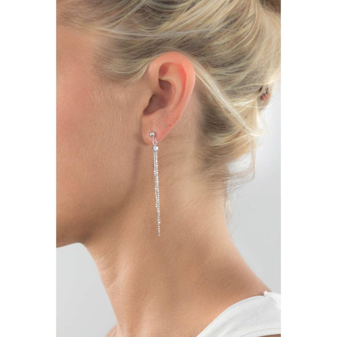 GioiaPura boucles d'oreille femme GPSRSOR0942 indosso