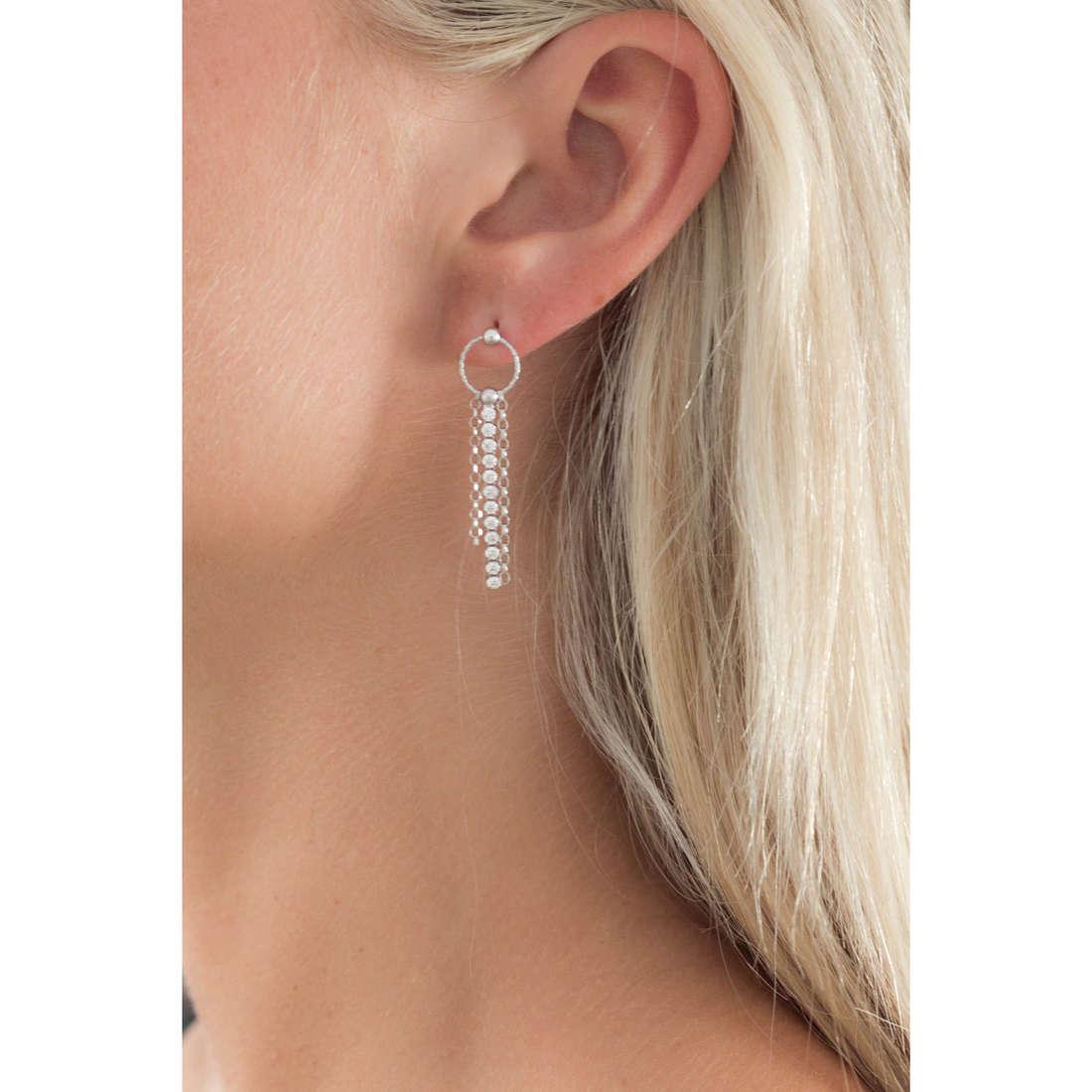 GioiaPura boucles d'oreille femme GPSRSOR1203 indosso