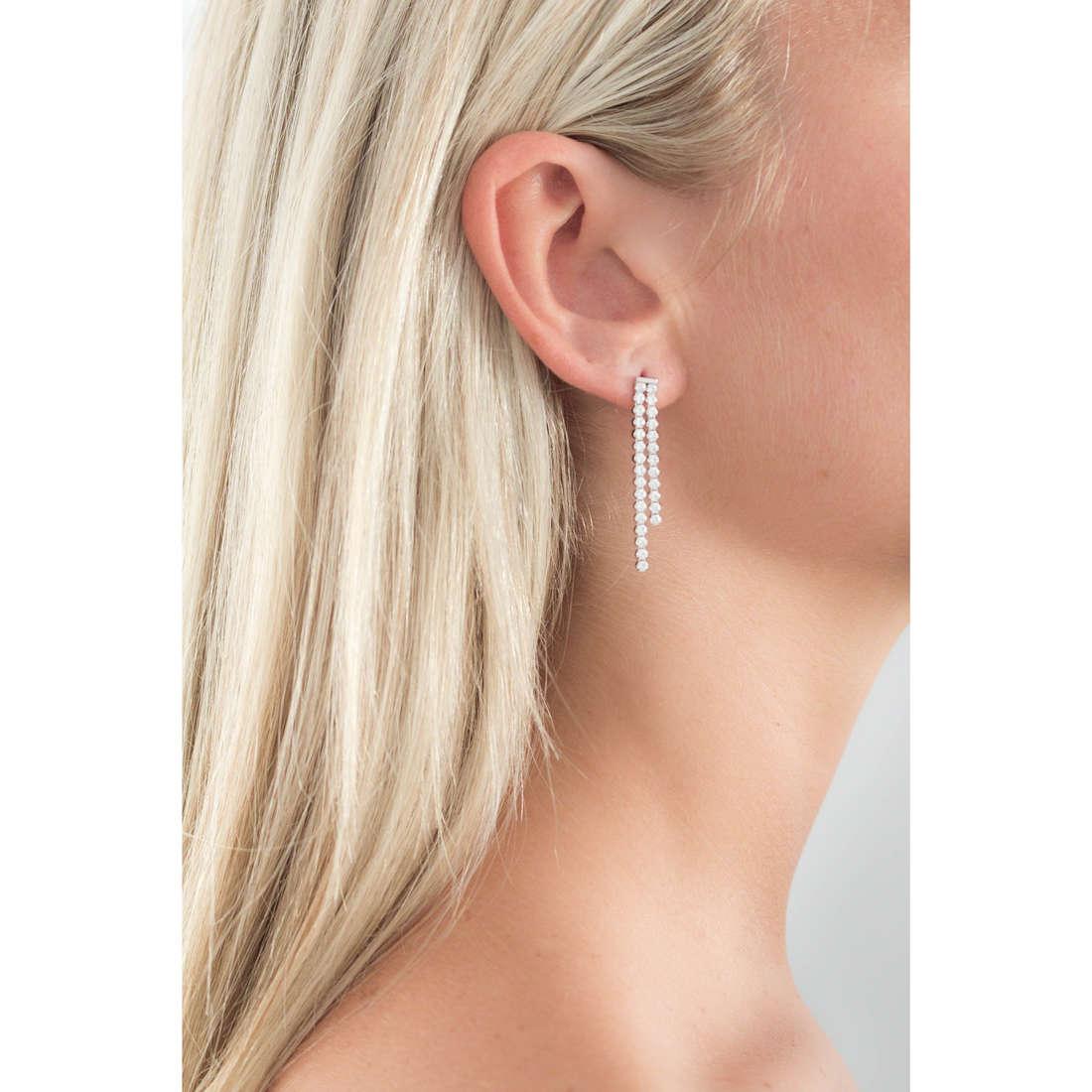GioiaPura boucles d'oreille femme GPSRSOR1204 indosso