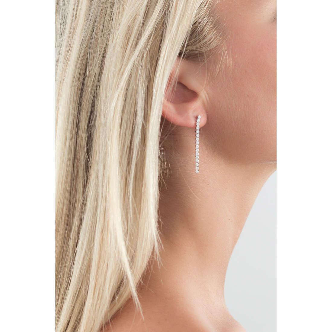 GioiaPura boucles d'oreille femme GPSRSOR1206 indosso