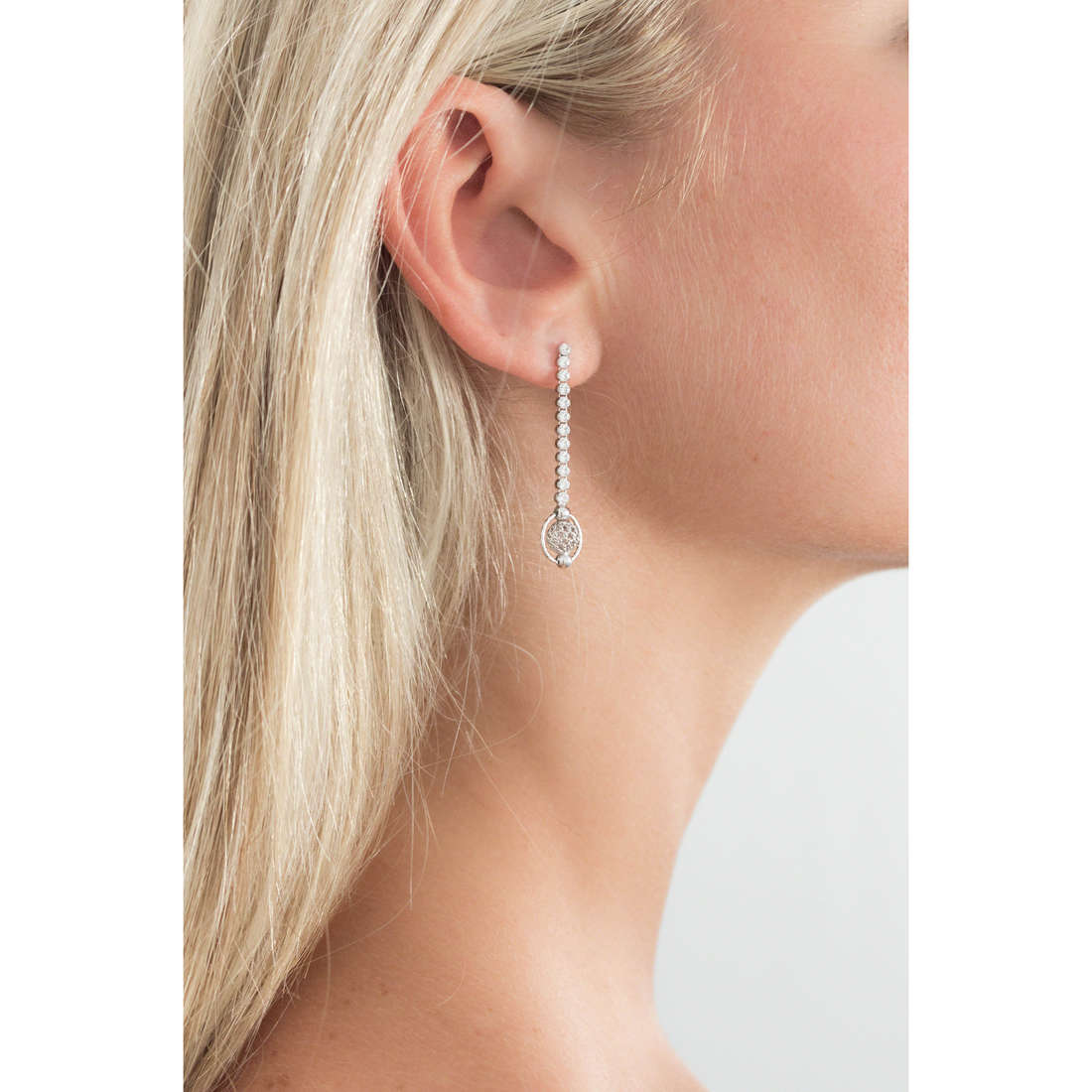 GioiaPura boucles d'oreille femme GPSRSOR1209 indosso
