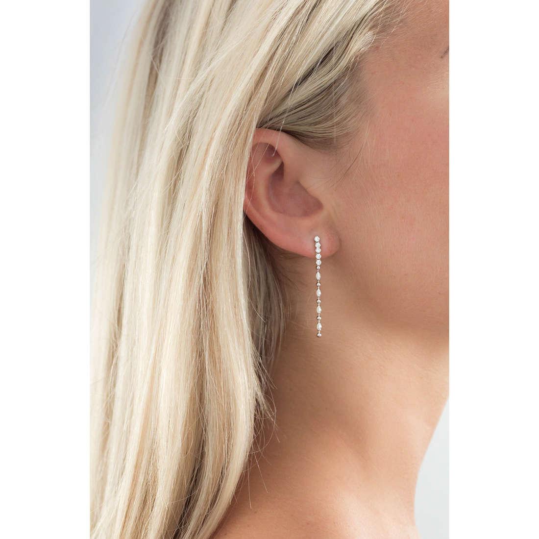 GioiaPura boucles d'oreille femme GPSRSOR1211 indosso