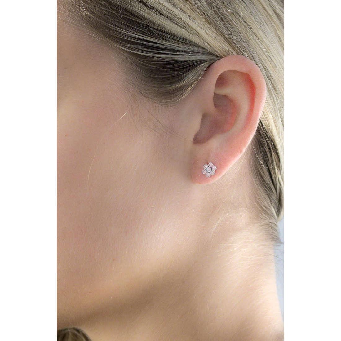 GioiaPura boucles d'oreille femme GPSRSOR1513 indosso