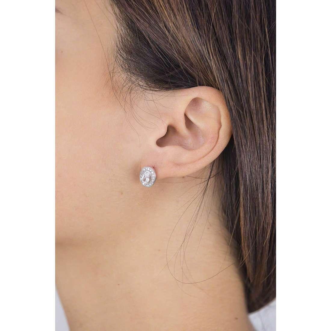 GioiaPura boucles d'oreille femme GPSRSOR1807 indosso