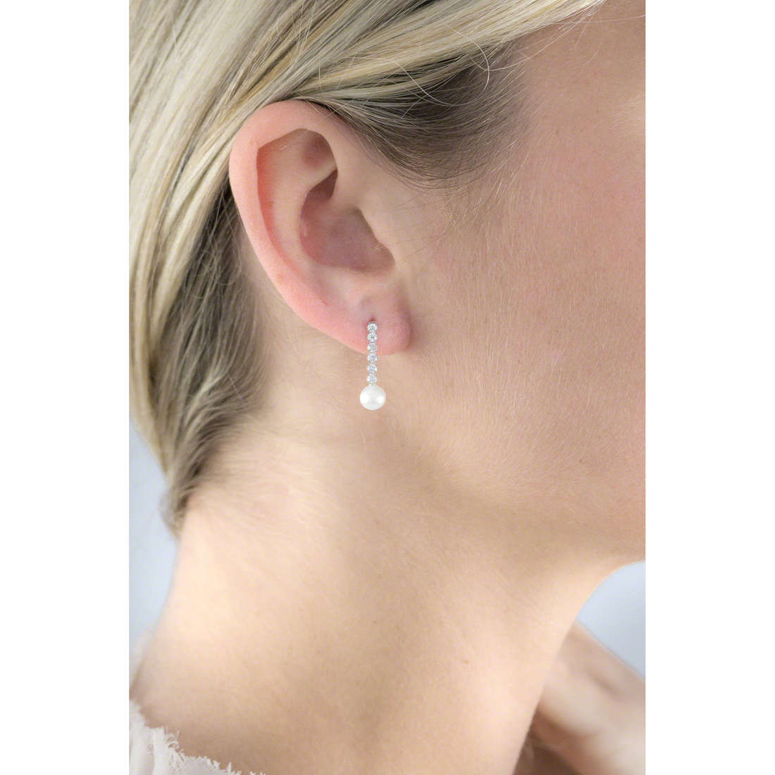 GioiaPura boucles d'oreille femme GPSRSOR2118 indosso
