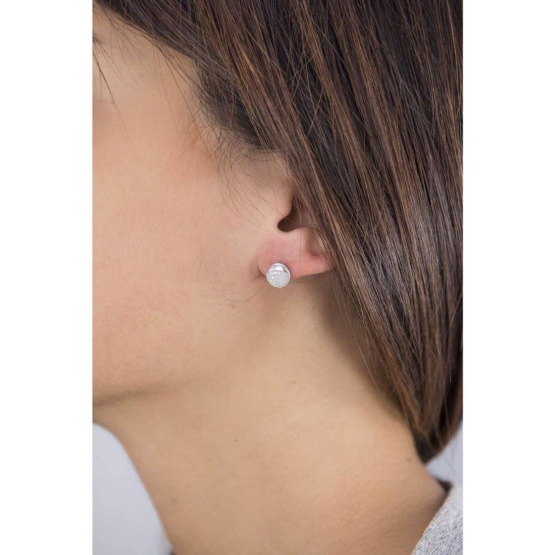 GioiaPura boucles d'oreille femme GPSRSOR2280 indosso
