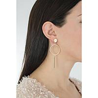 boucles d'oreille femme bijoux Guess Future Essential UBE84102