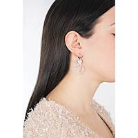 boucles d'oreille femme bijoux Guess Heart In Heart UBE84000