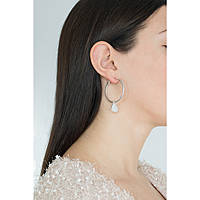 boucles d'oreille femme bijoux Guess Hoops I Did It Again UBE84053